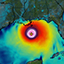 Visualization of Hurricane Katrina simulation