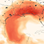 Visualization of Saharan dust in the Gulf of Mexico