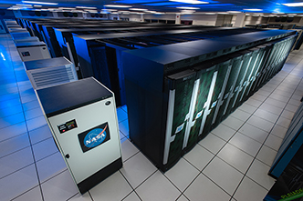 Photo of Pleiades supercomputer