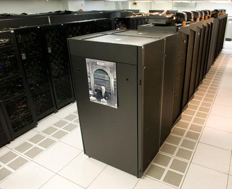 Photo of iDataPlex cluster